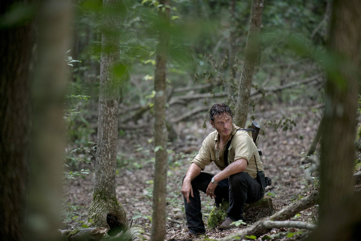 Could even Rick (Andrew Lincoln) die? Boy, that would be something!