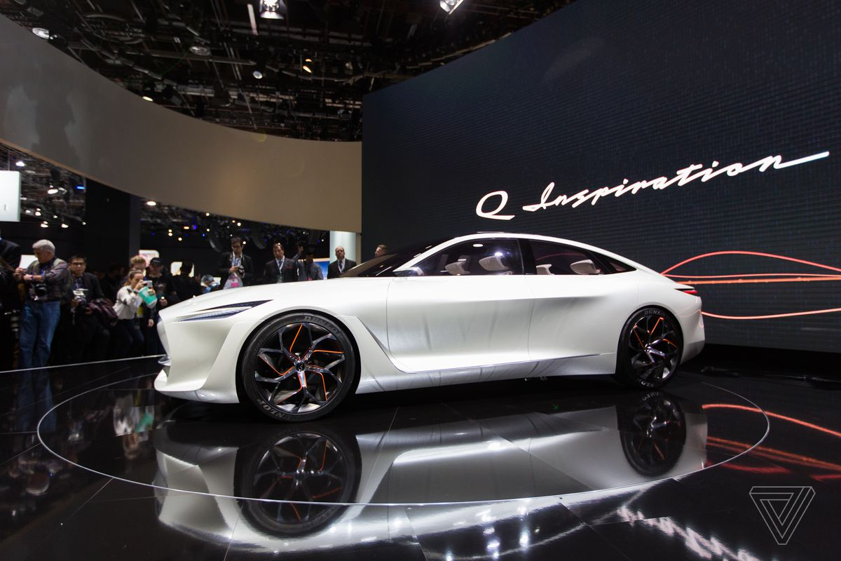 Infiniti s new concept car is a land yacht for movie for South motors infiniti used cars