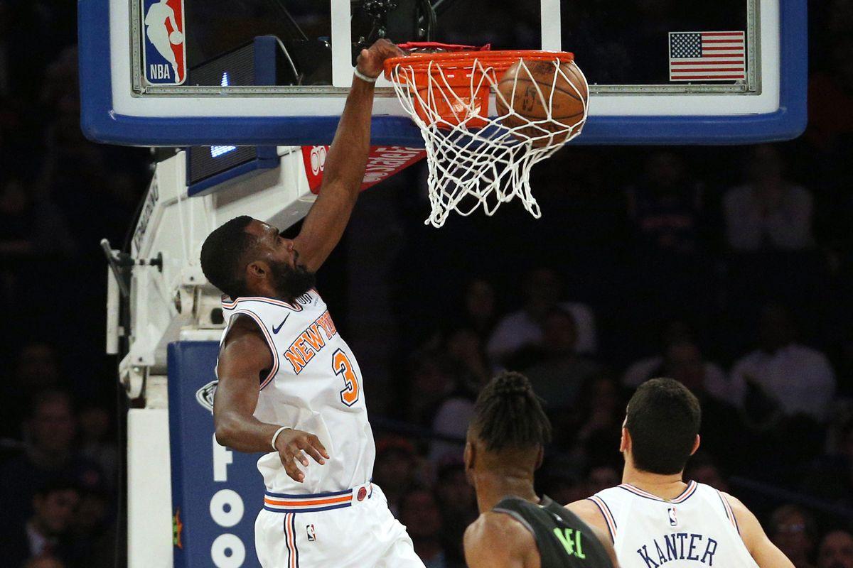 NBA: Dallas Mavericks at New York Knicks