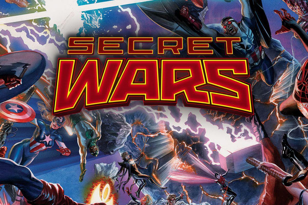 Marvel's Secret Wars will end the current Marvel universe
