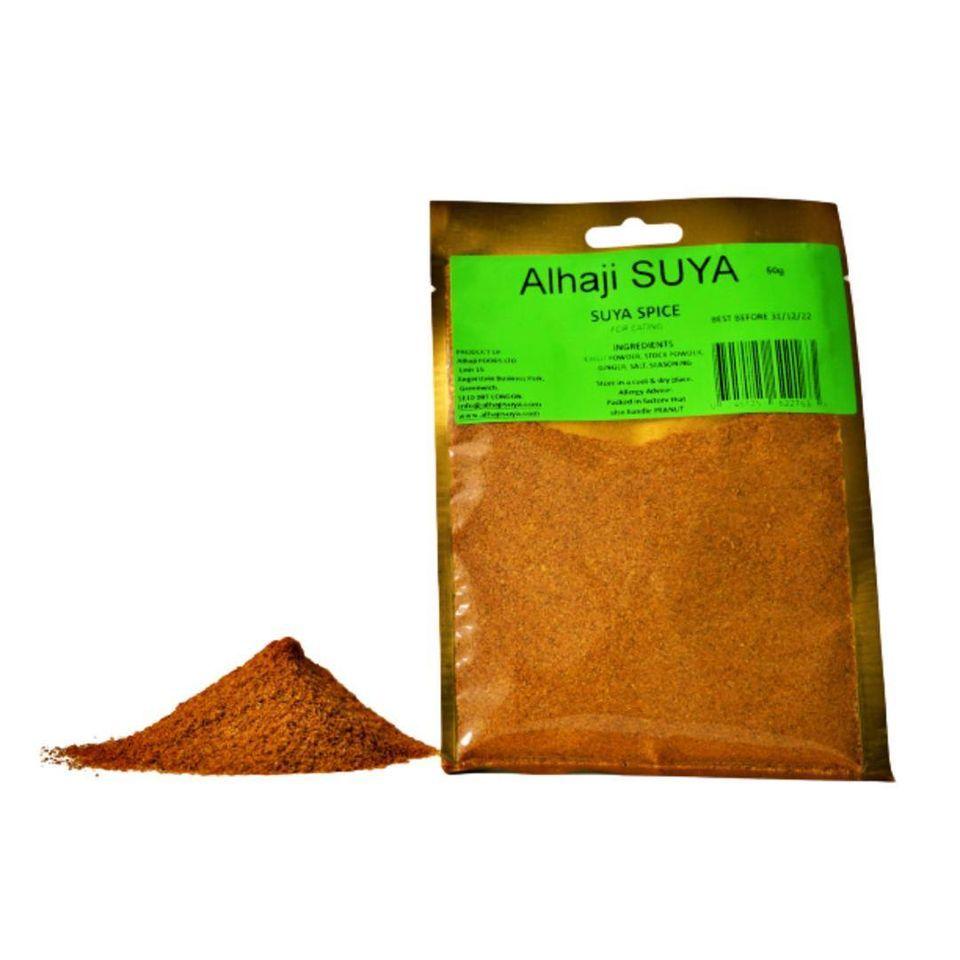 Alhaji's yaji —suya spice blend