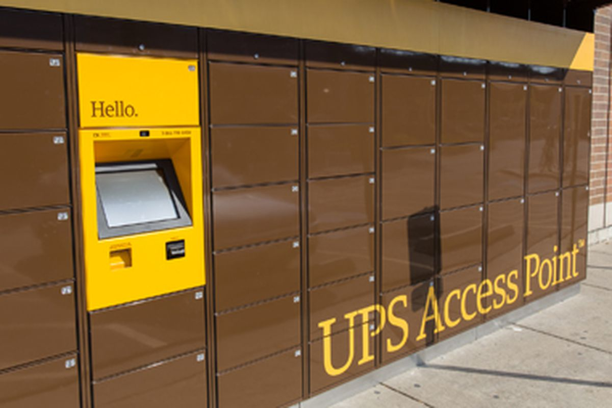 UPS brings package pickup locations to the US, starting in