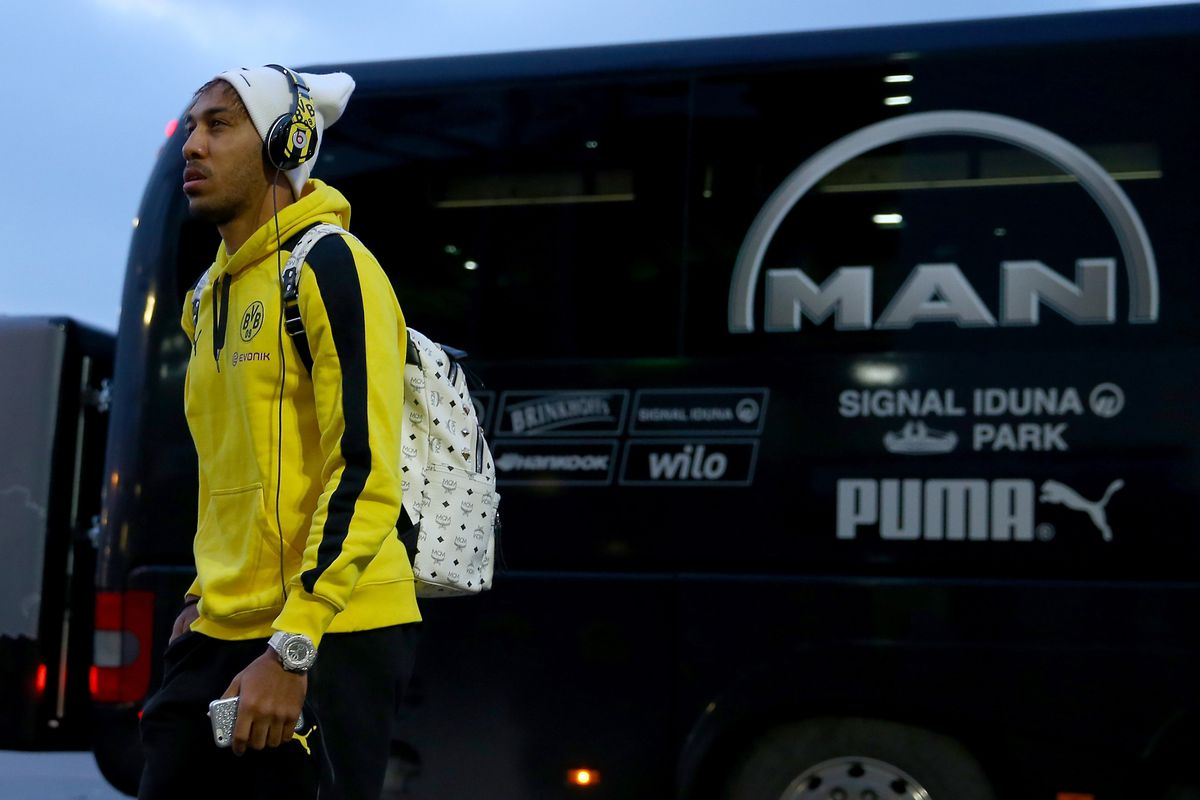 Aubameyang is certainly stylish, both on and off the pitch.