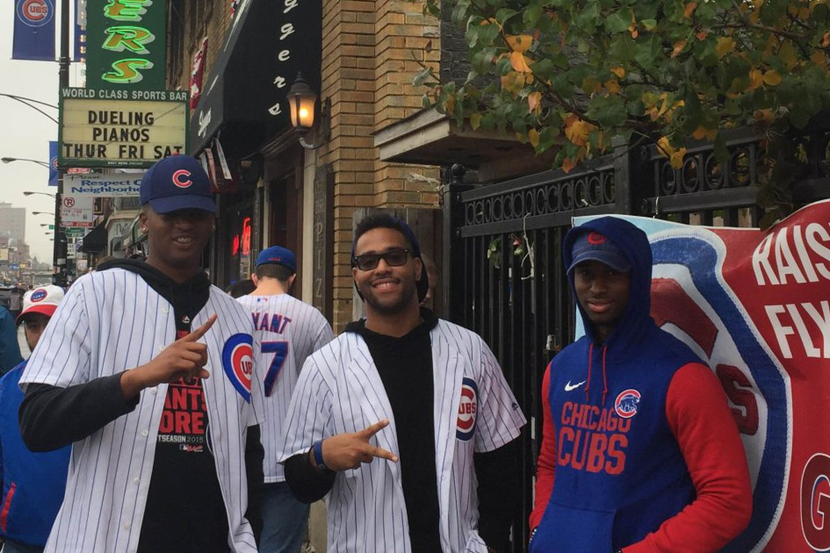 86be4f453 Cubs fans in Chicago counting down to World Series  Game 7 - Chicago ...