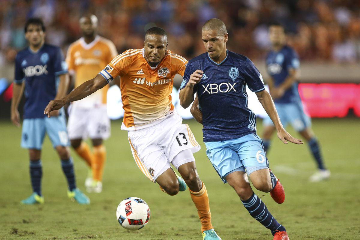 MLS: Seattle Sounders FC at Houston Dynamo