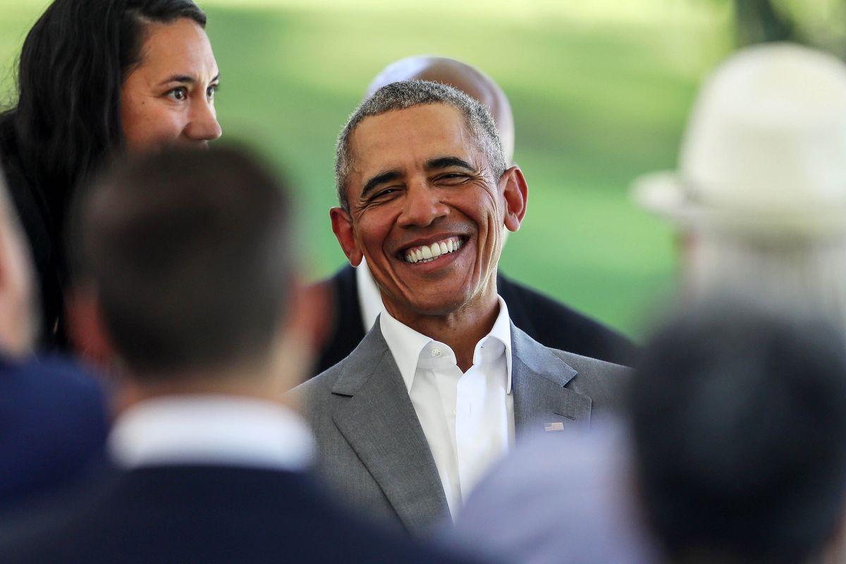 Barack Obama Visits New Zealand