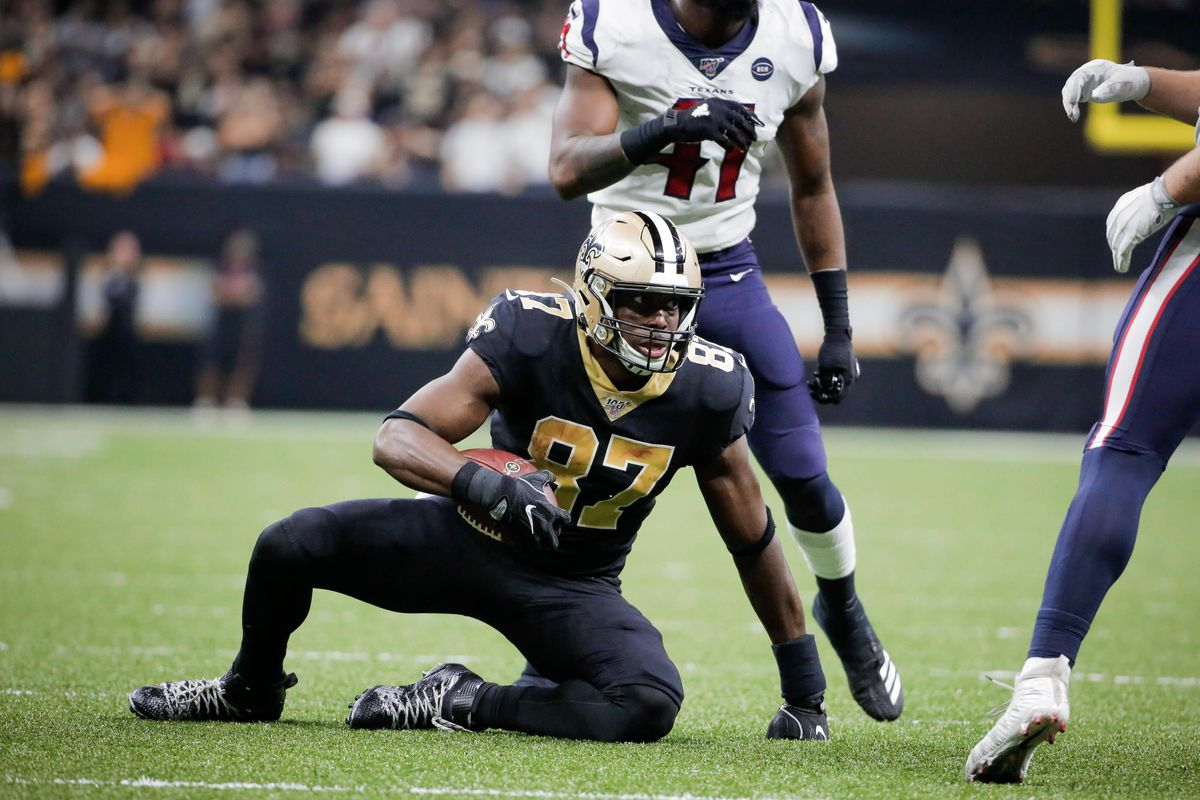 Bustin' at the seams: A closer look at Jared Cook through two games - Canal  Street Chronicles