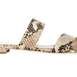 Snakeskin meets the double banded slide.