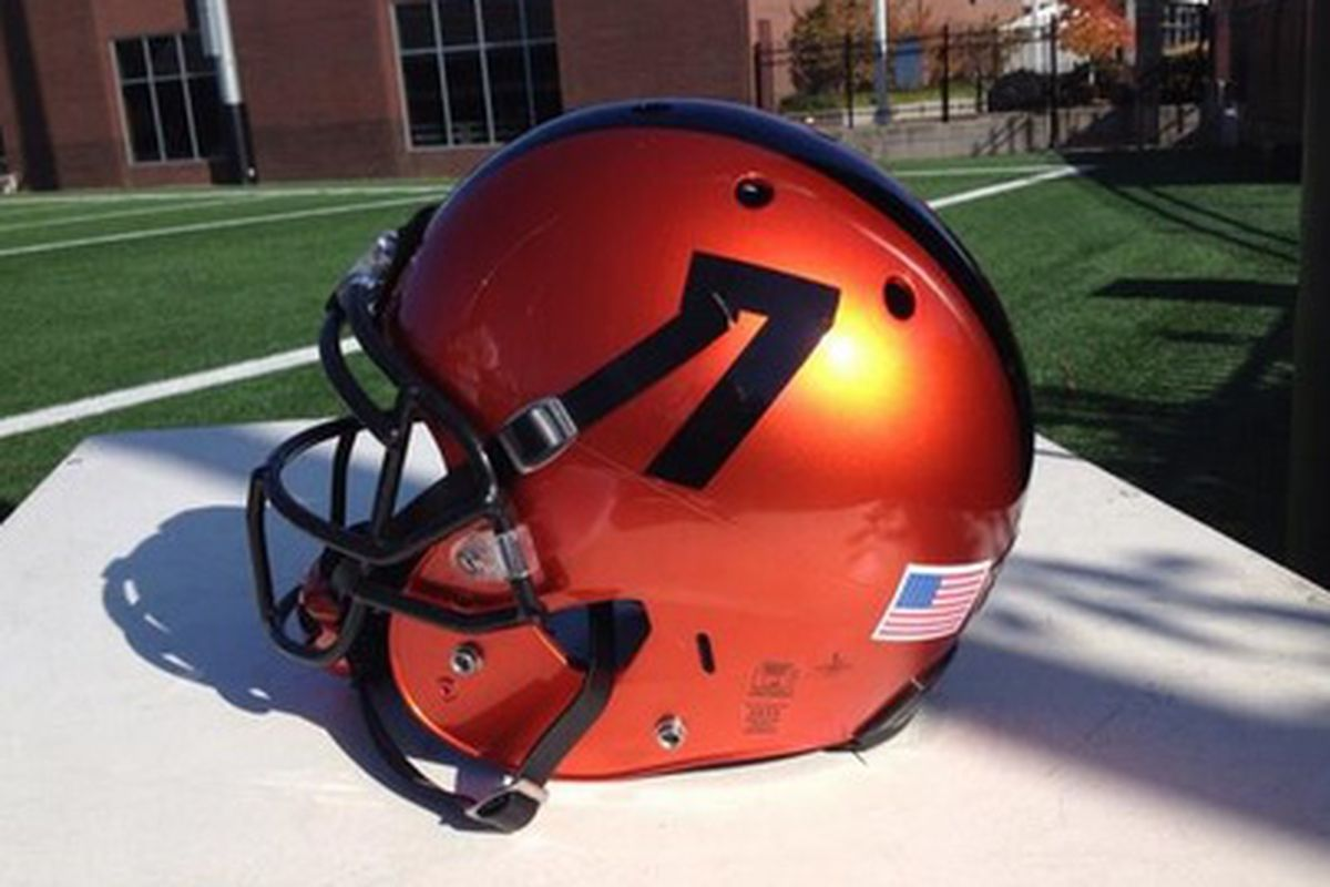 Oregon St. will use their new orange helmets for the first time Friday against USC.