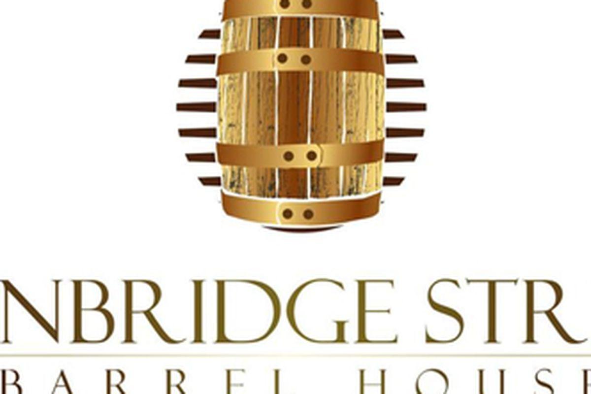 The logo for Bainbridge Street Barrel House
