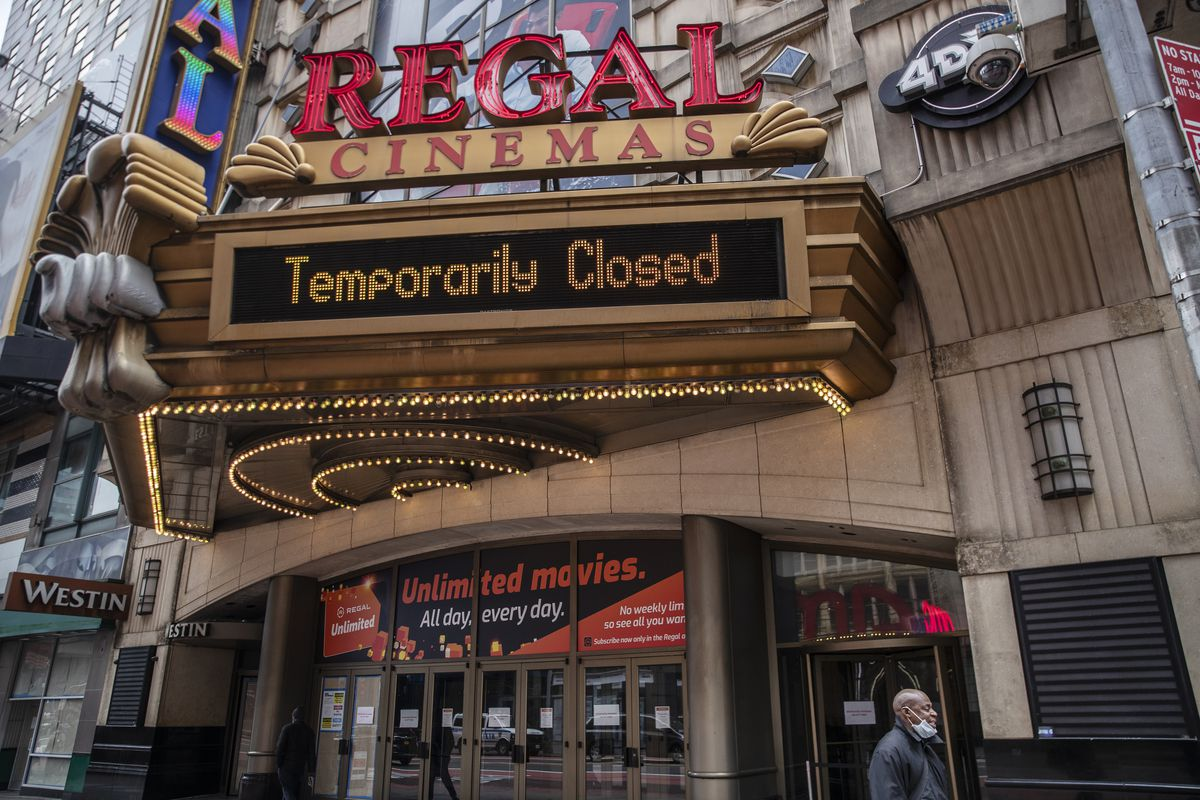 Bond was the last straw: Regal and Cineworld will reportedly close all  theaters in US and UK next week - The Verge