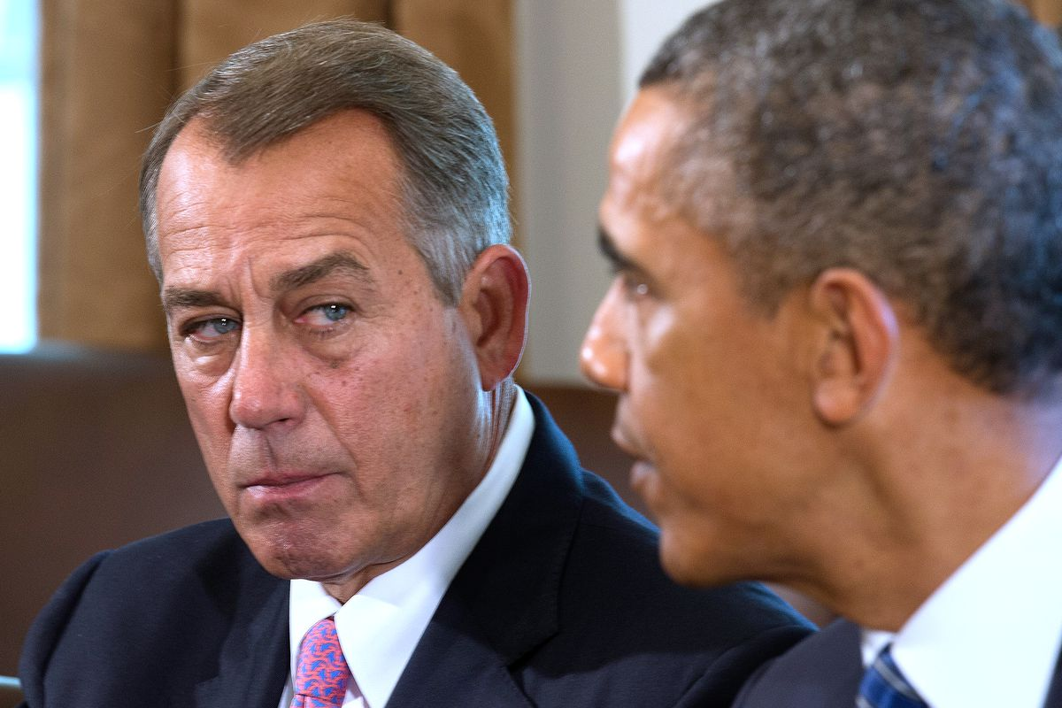skor för billiga konkurrenskraftigt pris billigaste Boehner has hired two law firms to sue President Obama. They've ...