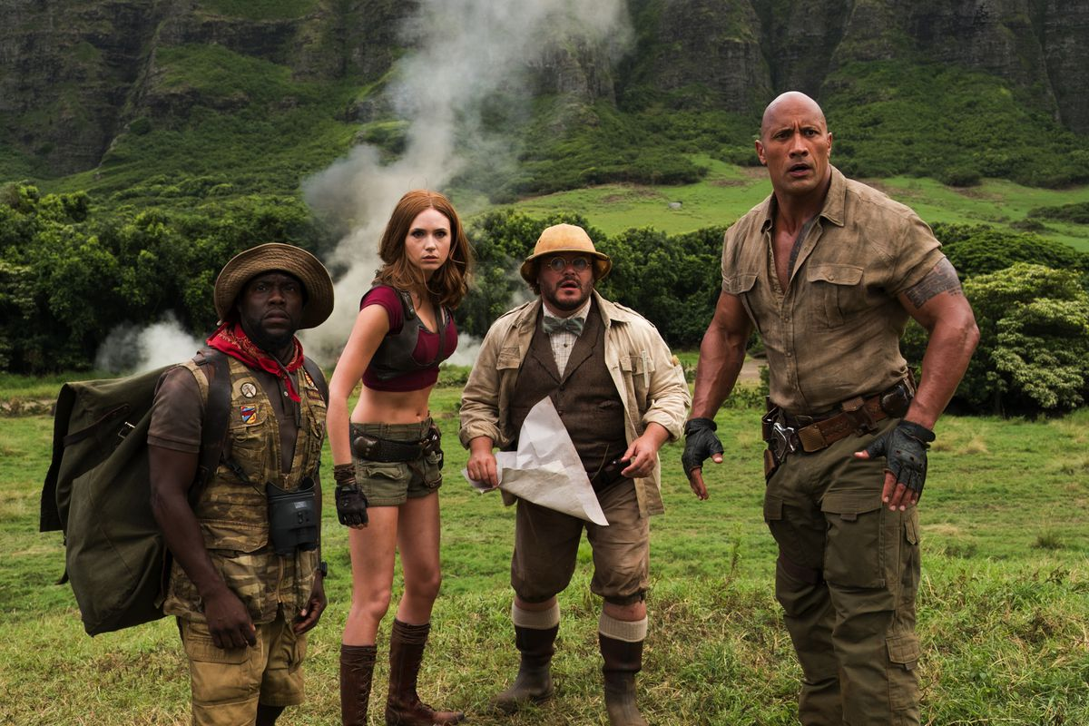 Jumanji: Welcome to the Jungle mines the wrong kind of gaming