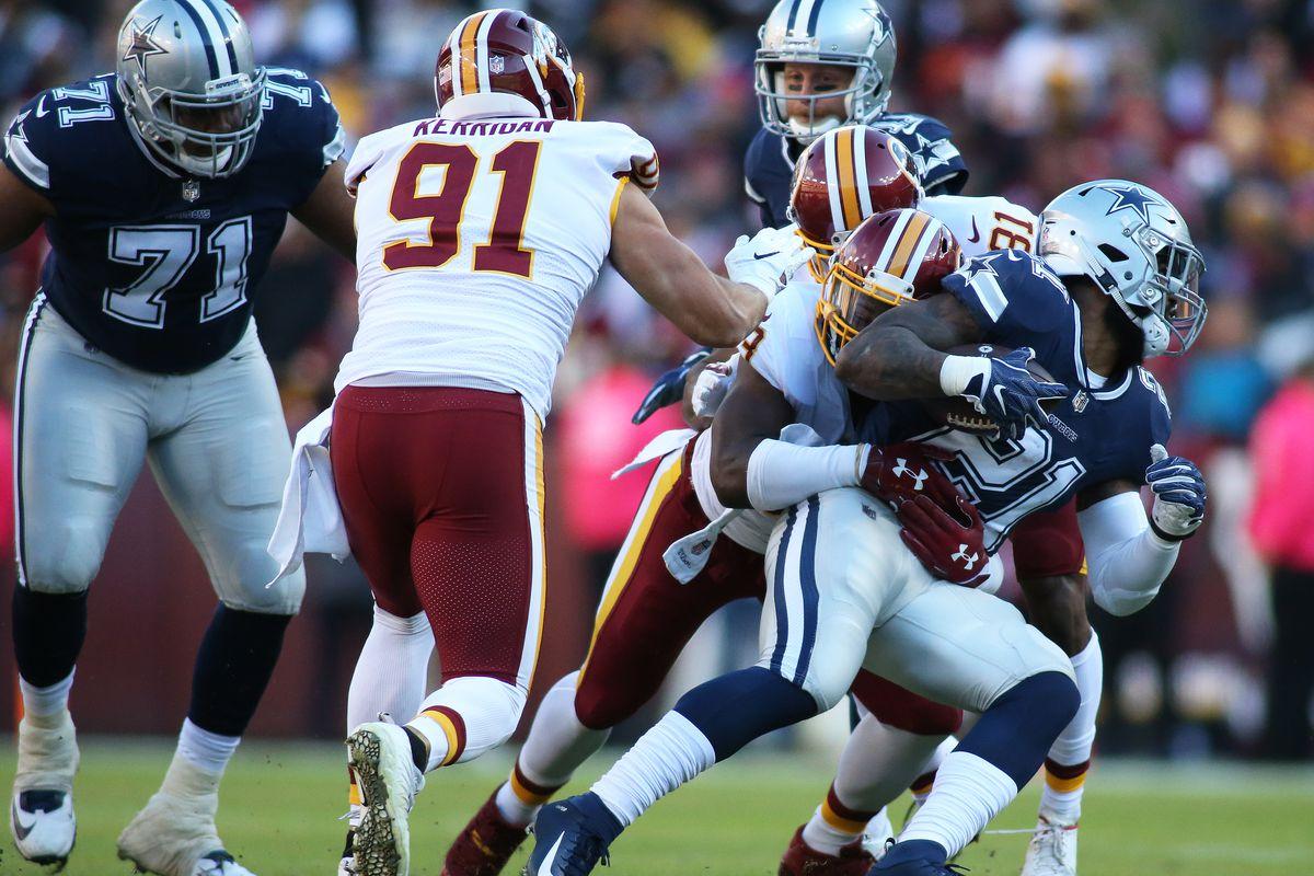 NFL: OCT 21 Cowboys at Redskins