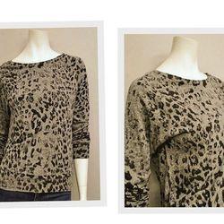 "<a href=""http://www.thirdstreethabit.com/shop/clothing/leopard_letterman_shirt.html"">Current Elliot Letterman Shirt</a>, $138 at Old City's Third Street Habit."