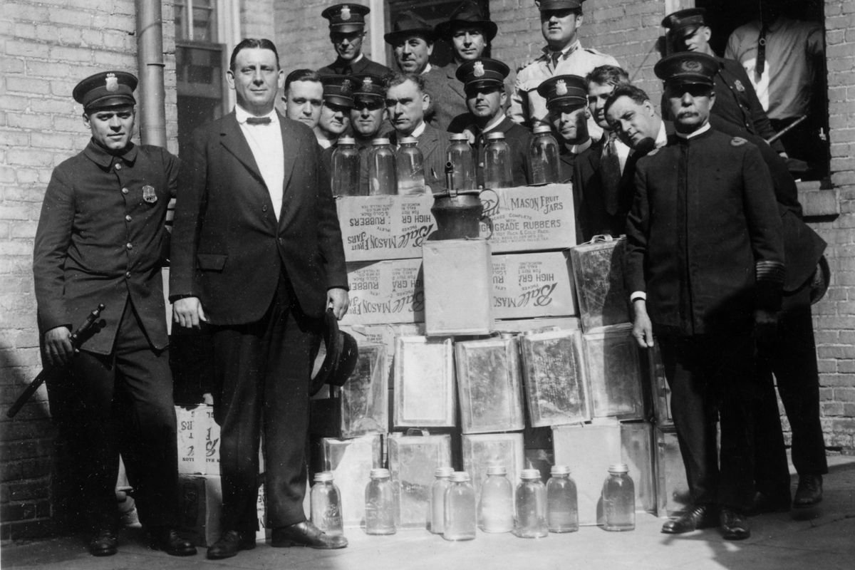 The US government once poisoned alcohol to get people to