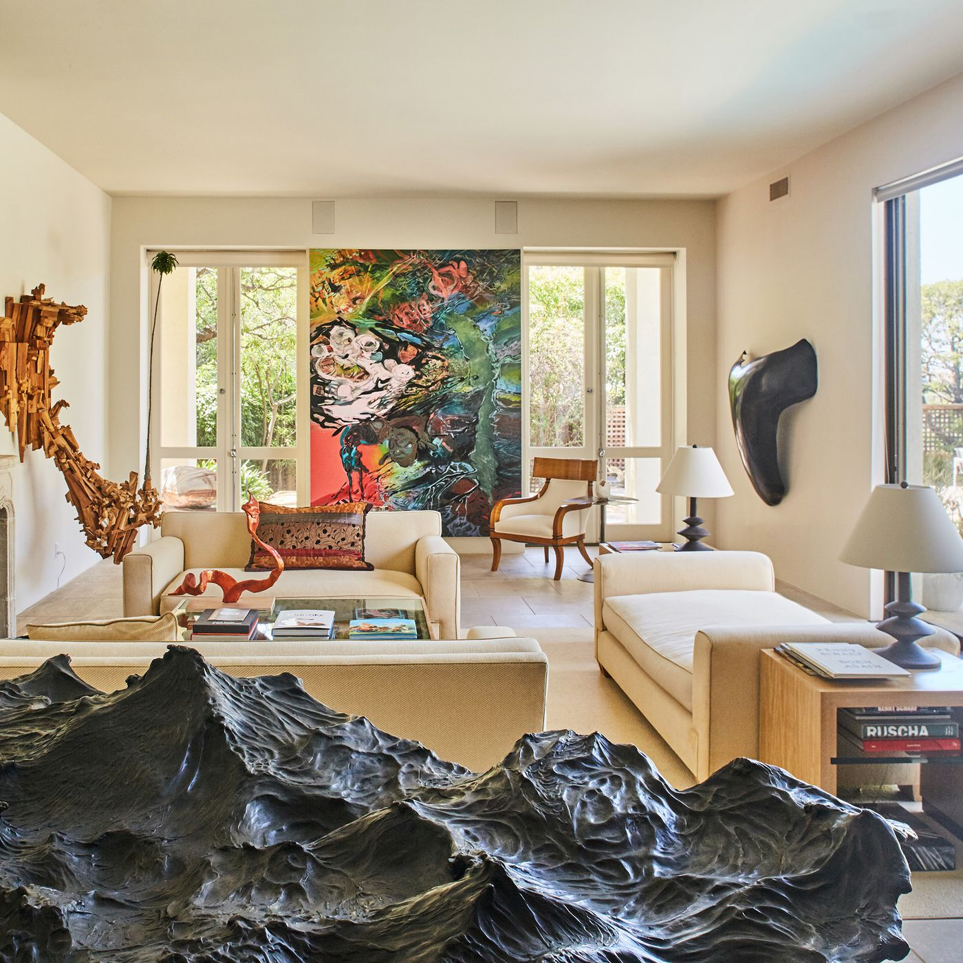 Inside Merry Norriss Art Filled Sanctuary In The Hollywood Hills