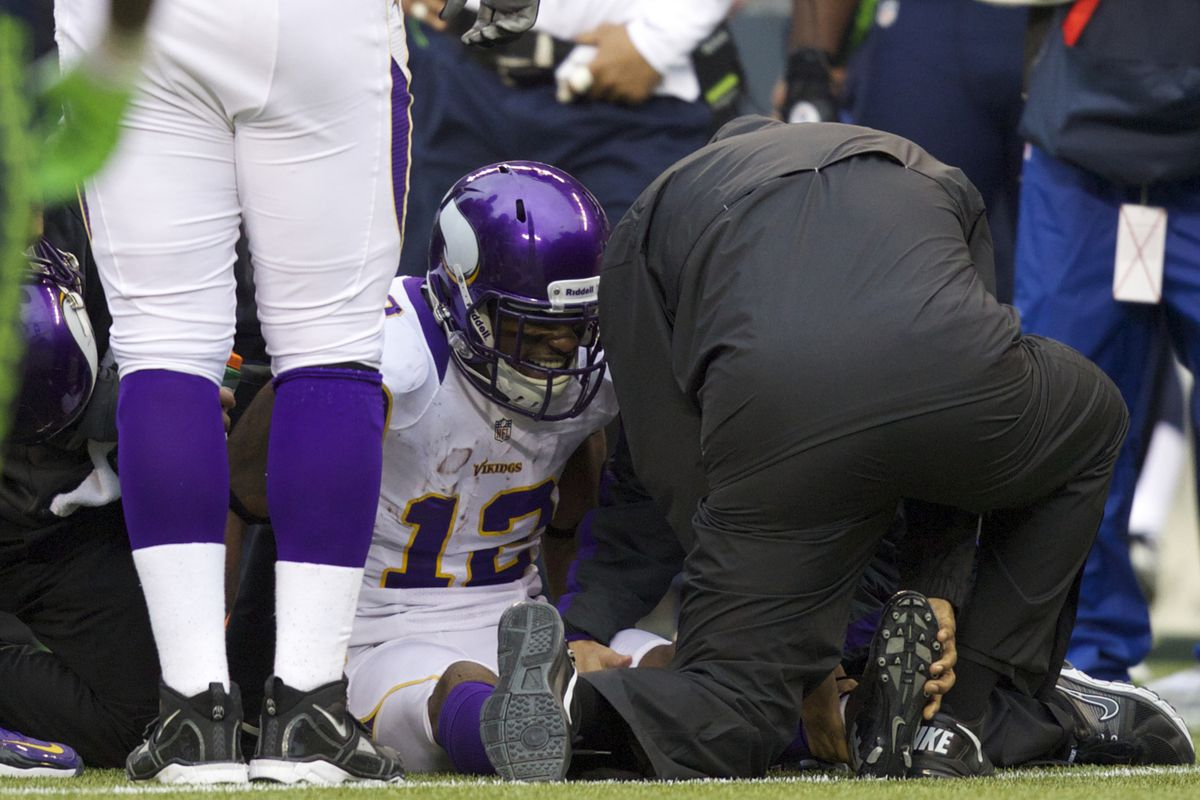 Outside of Percy Harvin's injury, the Vikings had a healthy year overall.