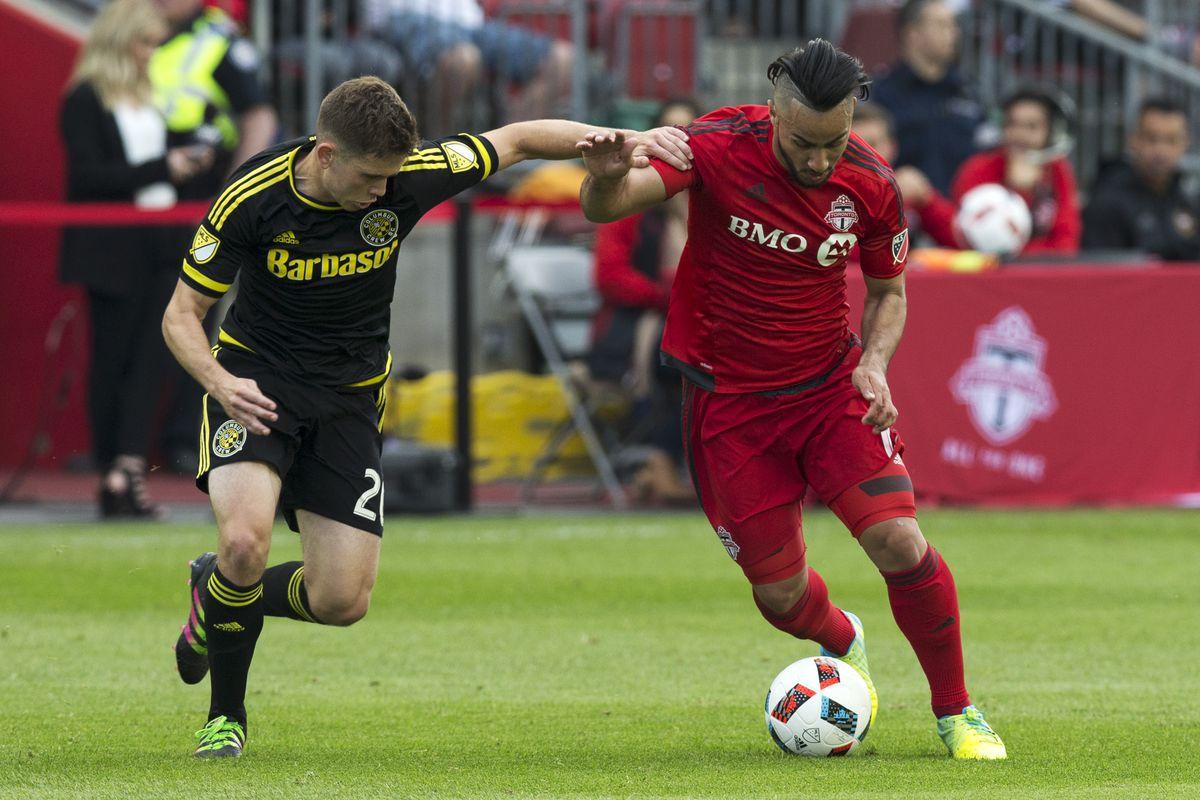 Toronto FC versus Columbus Crew SC