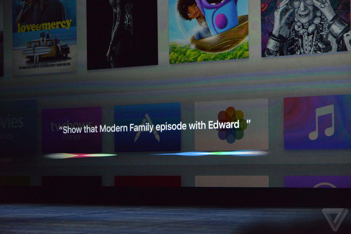 Siri Apple TV