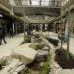 """Shoppers walk through City Creek in Salt Lake City  Wednesday, March 20, 2013. ; Criminal charges were filed Monday against a Salt Lake man who prosecutors say planned to """"kill as many people as possible"""" this week at a downtown mall and Sugar House movie theater"""