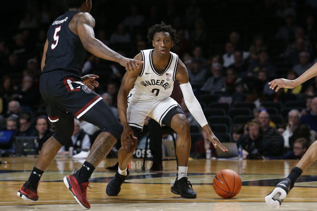 COLLEGE BASKETBALL: MAR 07 South Carolina at Vanderbilt