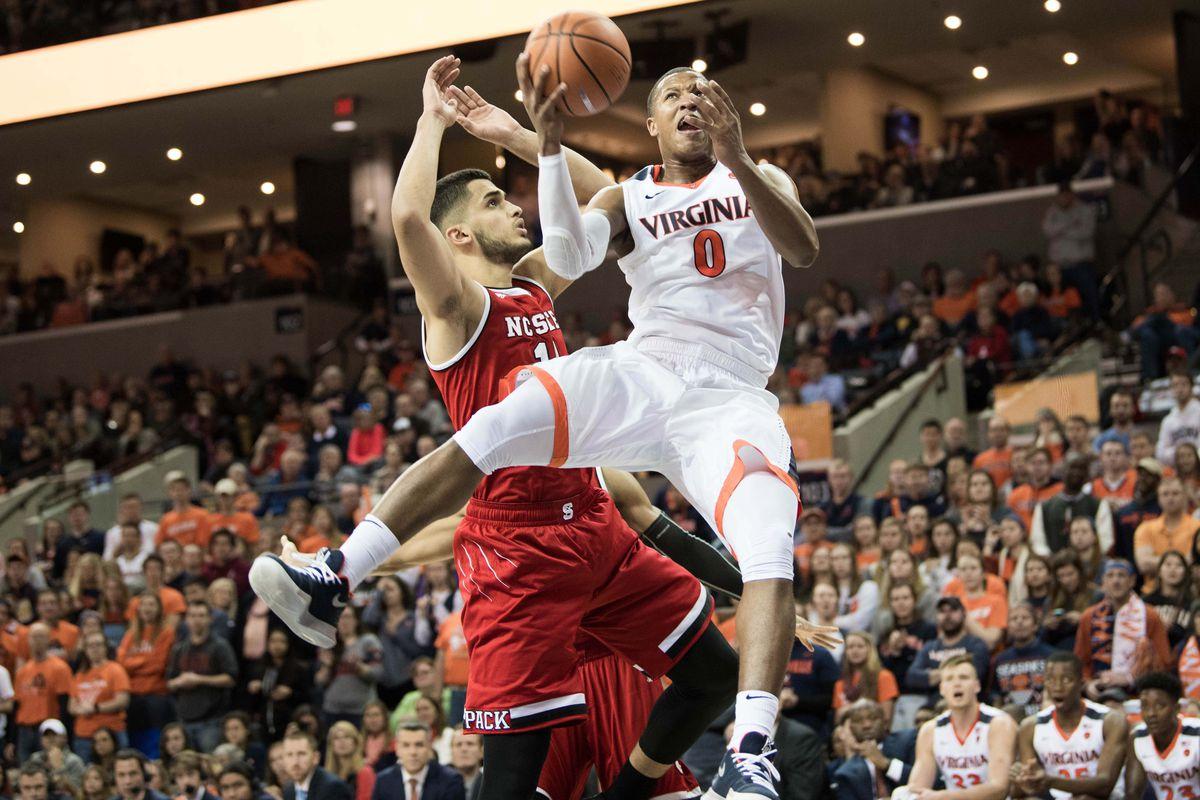 NCAA Basketball: North Carolina State at Virginia