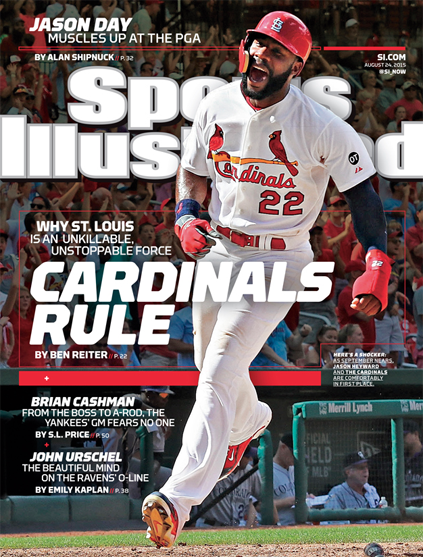 sports illustrated 2015 cardinals cover
