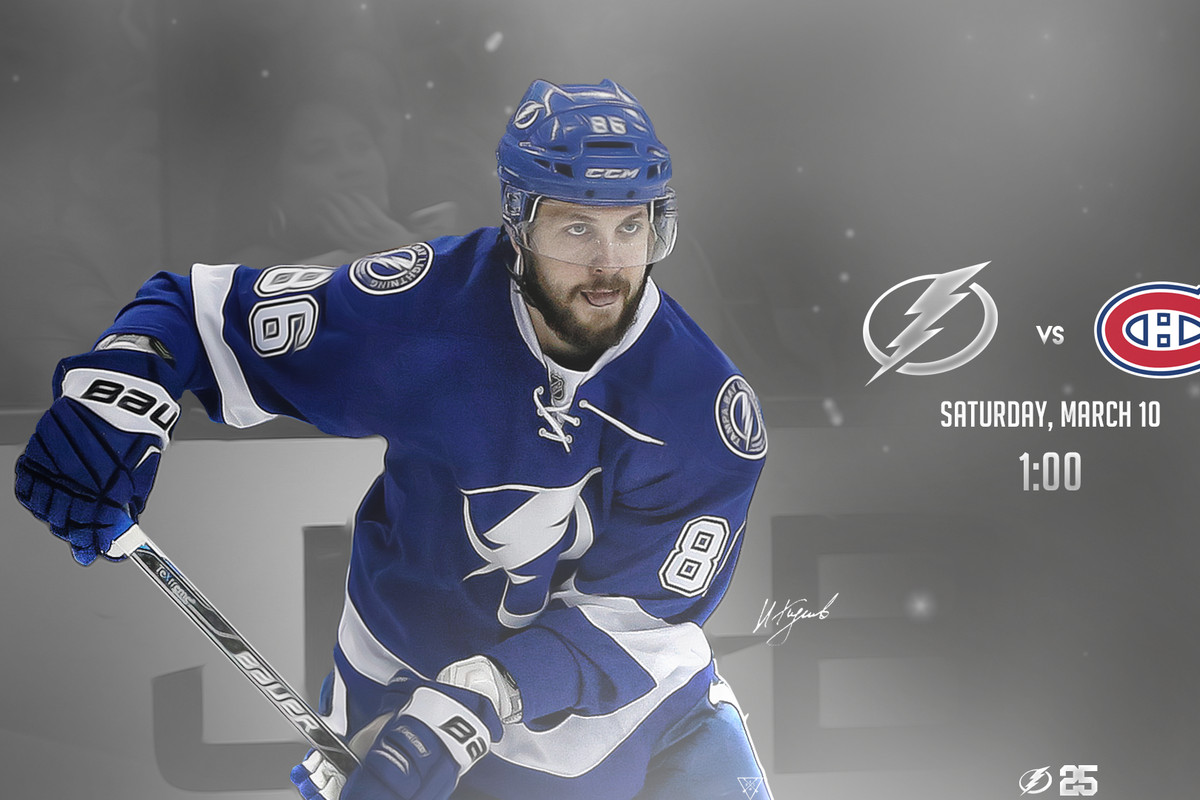 montreal canadiens at tampa bay lightning game 69 raw charge