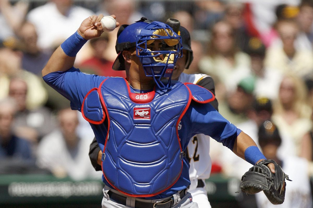 anonymous cubs catcher