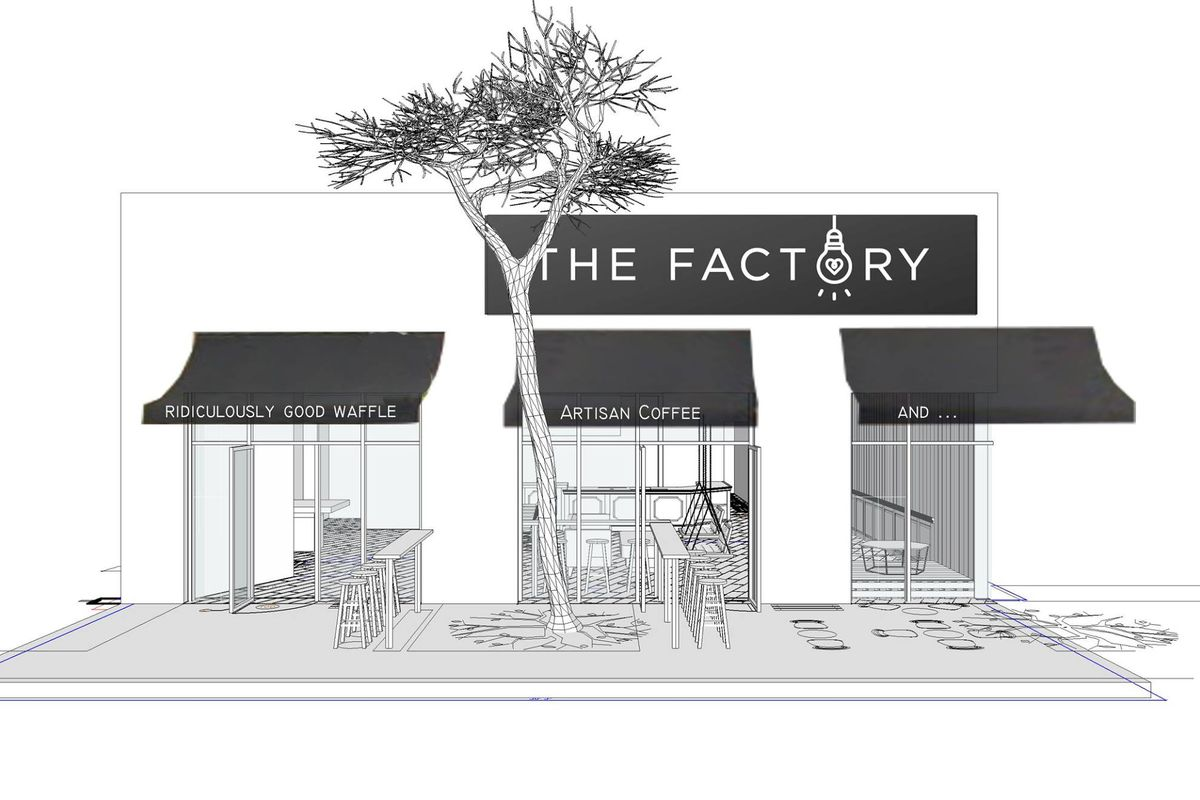 Rendering of The Factory