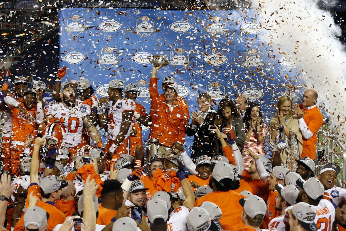 NCAA Football: ACC Championship-Clemson vs Virginia Tech