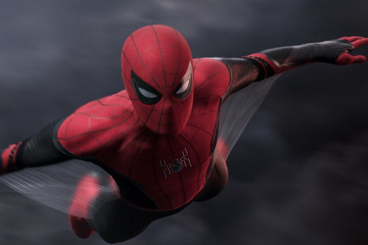 """Spider-Man in Columbia Pictures' """"Spider-Man: Far From Home."""""""