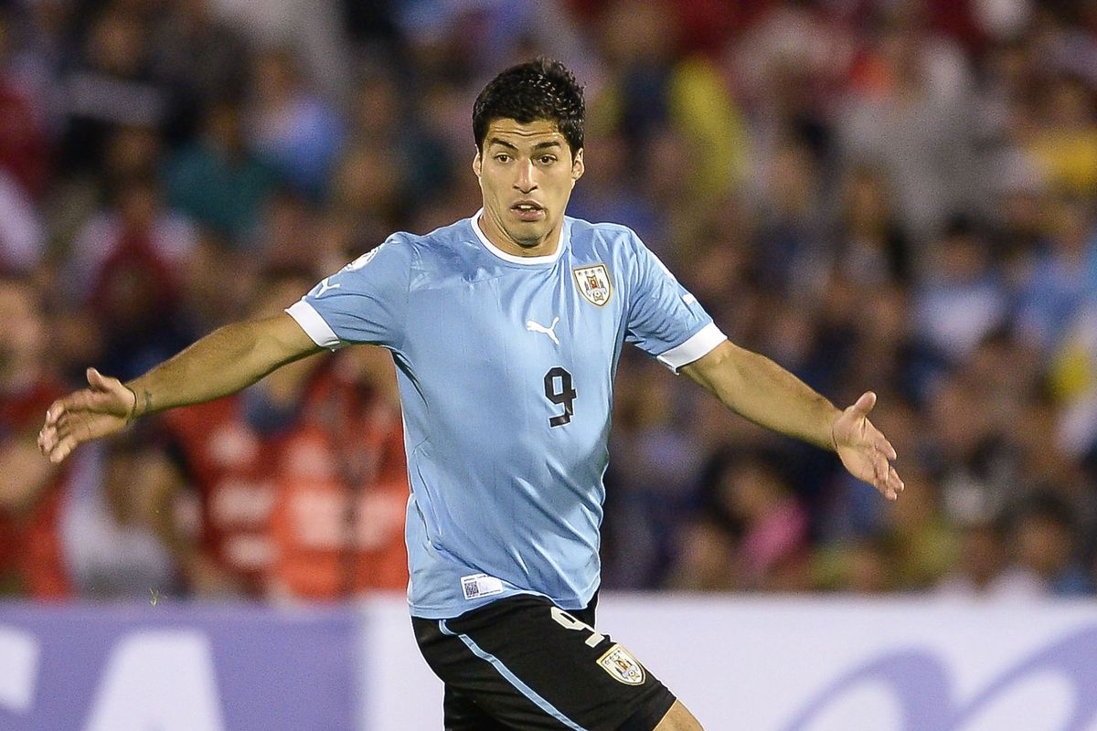 Luis Suarez asks America 'What you gonna do when I run wild over you' at the 2016 Copa America on U.S. soil.