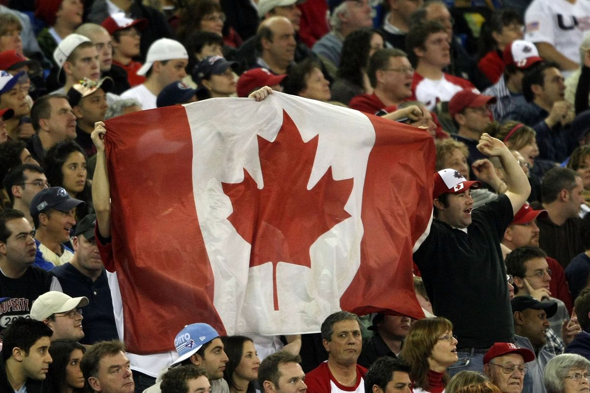 Canada v United States - World Baseball Classic Tornoto Day 1