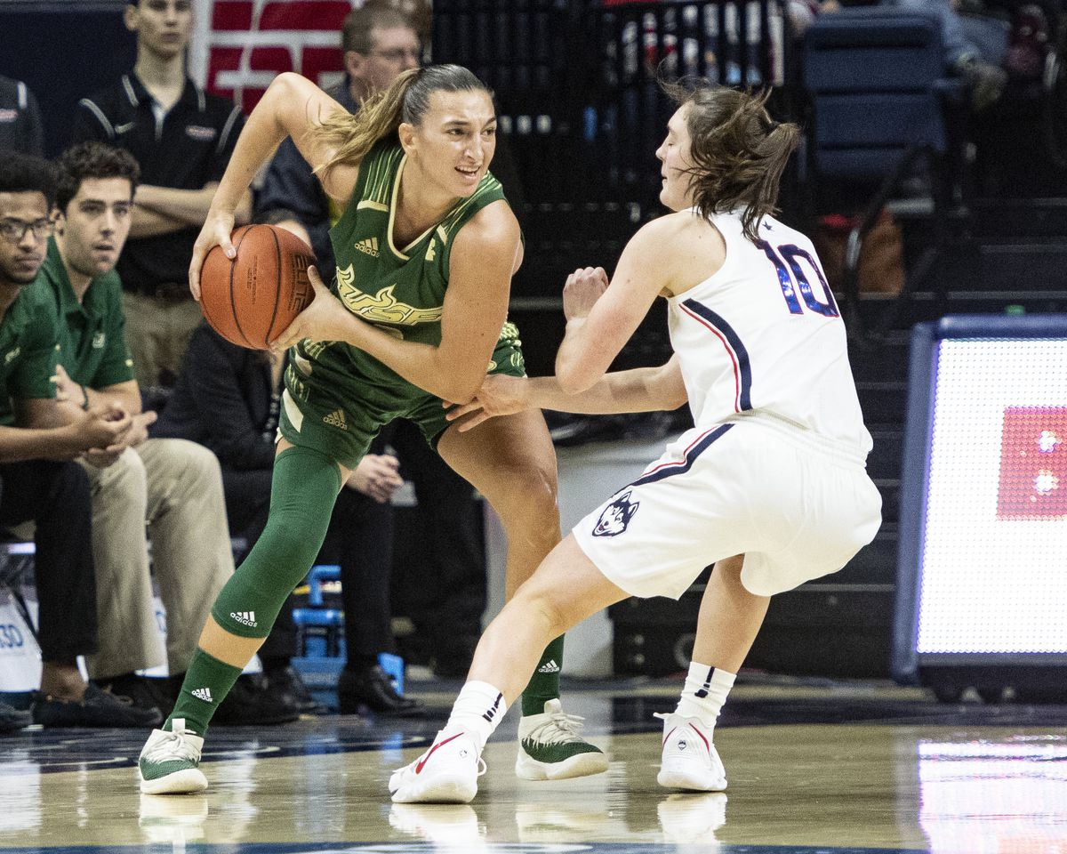 COLLEGE BASKETBALL: JAN 13 Women's USF at UConn