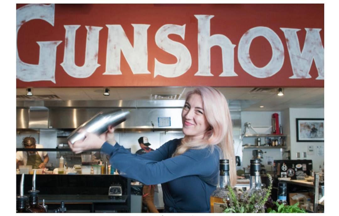 Gunshow (and Cold Beer) beverage director, Mercedes O'Brien