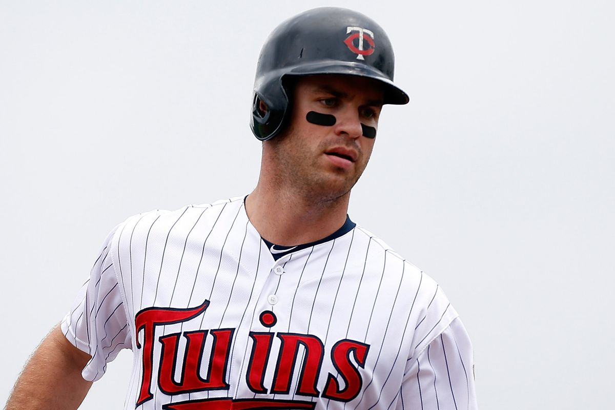Joe Mauer after he actually bothered to hit a home run.