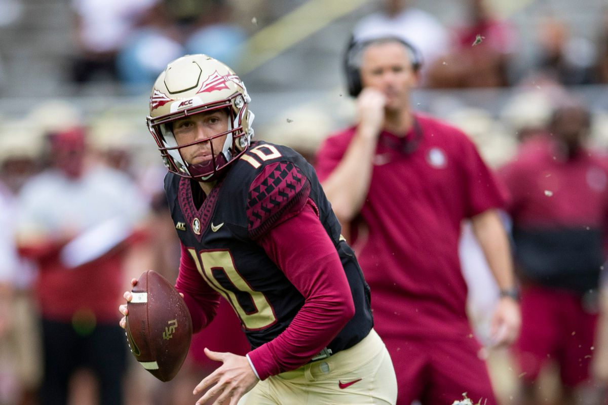Florida State Seminoles quarterback McKenzie Milton finished 6-of-11 for 96 yards and a touchdown in two-quarters worth of work on Saturday at the Garnet And Gold Game.