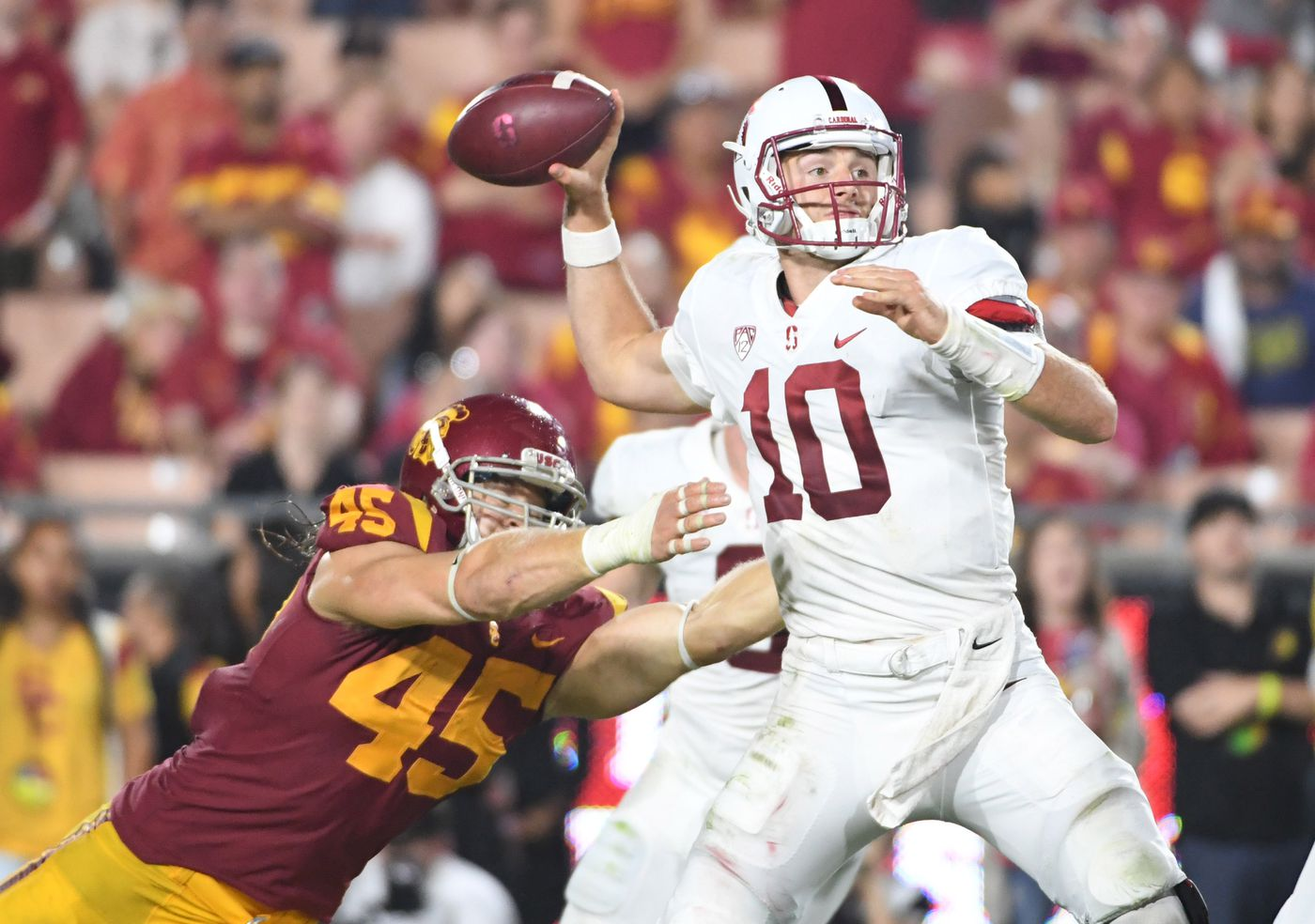 sneakers for cheap 5c0d7 ec1f3 New Orleans Saints undrafted rookie profile: Porter Gustin ...