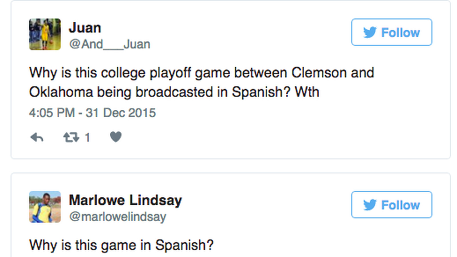 a lot of people are incredibly confused by the college football