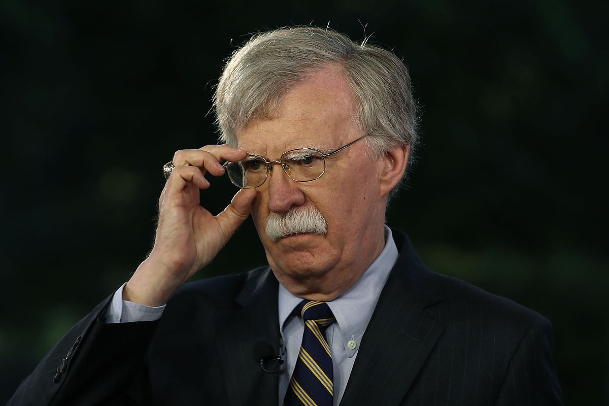 National Security Adviser John Bolton is helping President Donald Trump ahead of his meeting with North Korean leader Kim Jong Un.