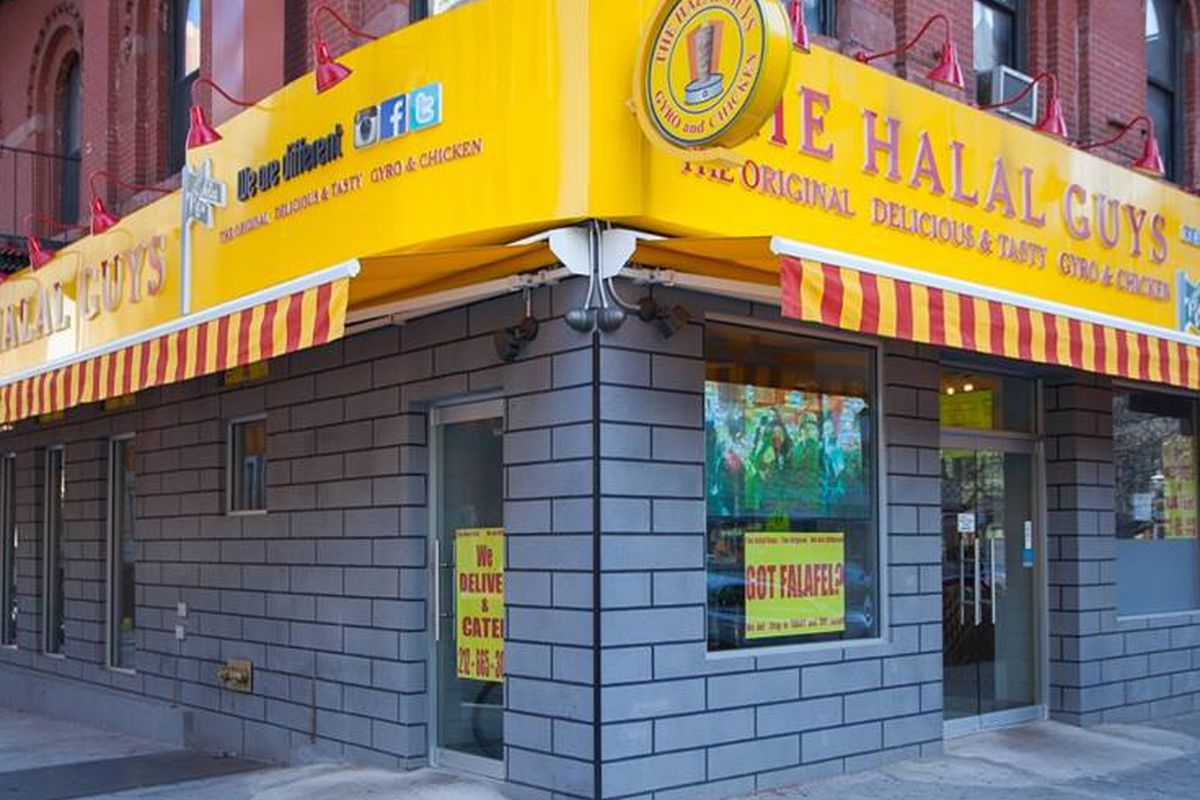 A location of The Halal Guys