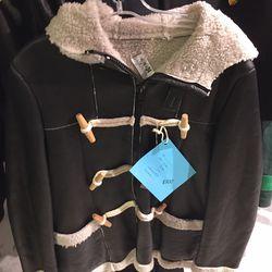 Toggle clasp coat, $300