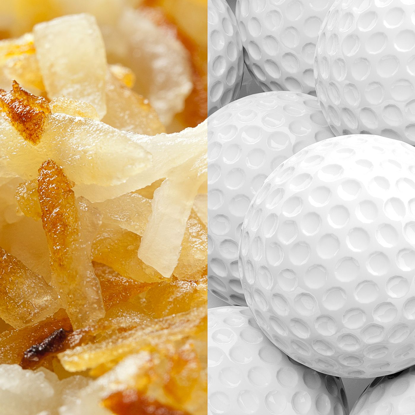 If your hash browns taste like golf balls, it's because they