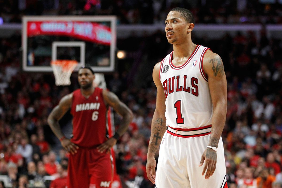 It's not a question of whether or not LeBron James will cover Derrick Rose, its a question of how much.
