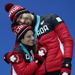 Eric Radford and partner Meagan Duhamel