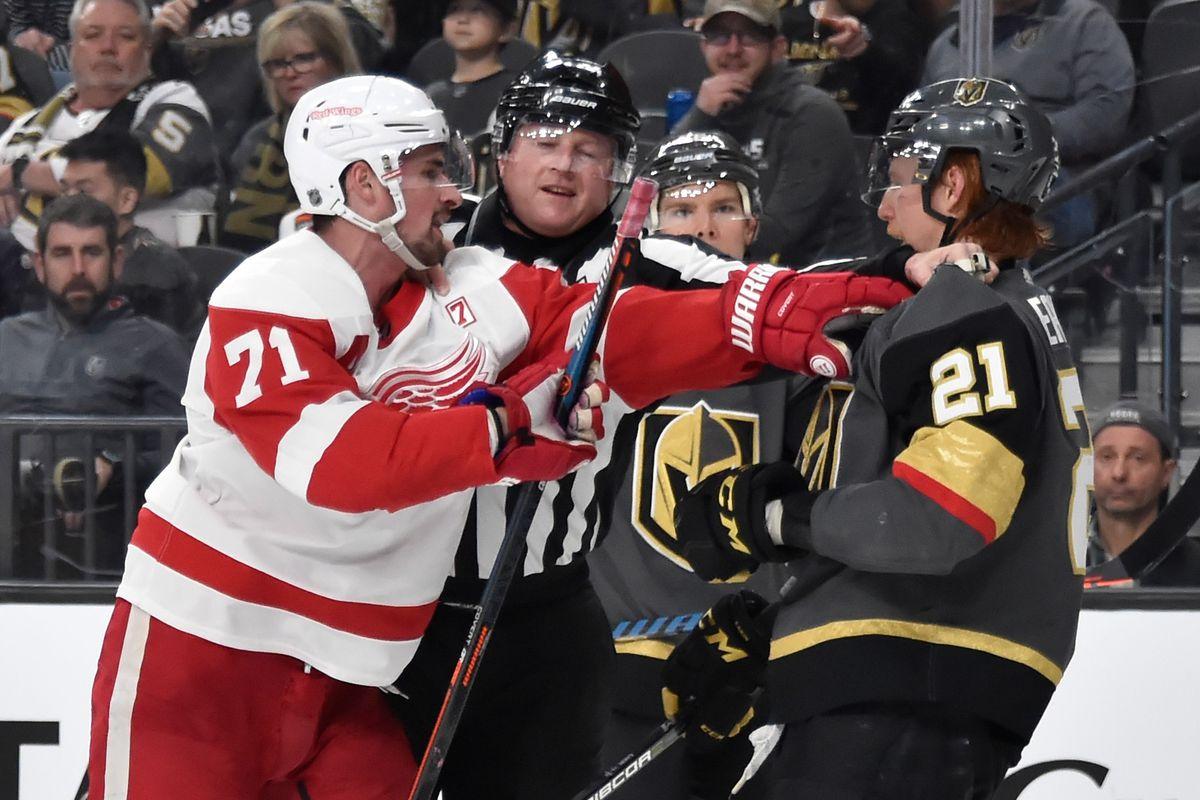 Detroit Red Wings v Vegas Golden Knights