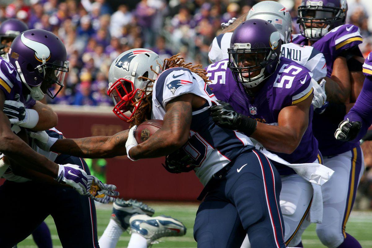 NFL: SEP 14 Patriots at Vikings