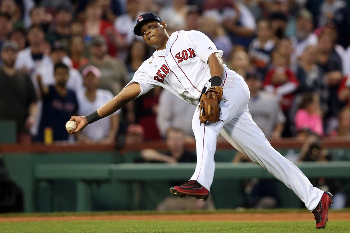 American League Division Series Game Three: Houston Astros v. Boston Red Sox